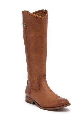 Frye Melissa Button Inside Zip Leather Boot