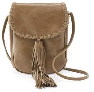 Hobo Dancer Leather Whipstitch Crossbody