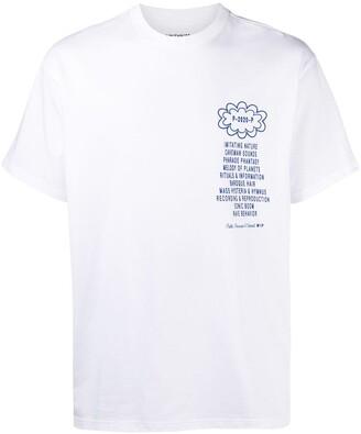 Carhartt Work In Progress logo print short-sleeved T-shirt