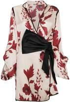 Johanna Ortiz Silk Floral Kimono