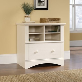 Beachcrest Home Pinellas 1 Drawer Lateral Filing Cabinet Color: Antique White