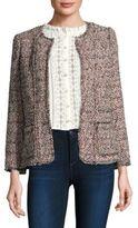 Rebecca Taylor Multicolor Tweed Jacket