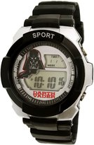 Disney Boy's Star Wars SWCAD059 /Silver Silicone Quartz Watch