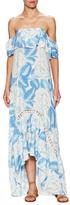 Winston White Sol Floral Print Maxi Dress