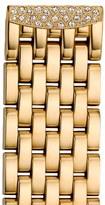 Michele 'Urban Mini Diamond' 16mm Gold Plated Bracelet Watchband