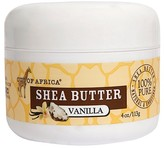 Out of Africa Raw Shea Butter Moisturizer Vanilla - 4 oz