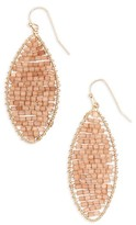 Panacea Women's Marquise Beaded Drop Earrings