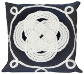 Liora Manné Ornamental Knot Indoor/Outdoor Throw Pillow