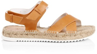 Rag & Bone Giza Leather Espadrille Sandals