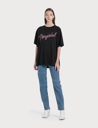 MM6 MAISON MARGIELA Laser Print Jeans