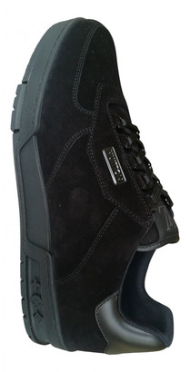 Louis Vuitton Trainer Black Suede Trainers