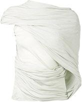 Rick Owens wrap blouse