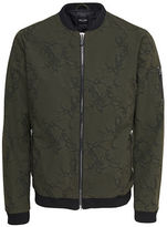 Only And Sons Abstract Printed Brett Jacket