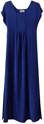 Stefanel Blue Silk Dresses