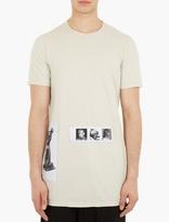 Beige 'level' Reversible T-shirt
