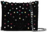 Elena Ghisellini jewel studded crossbody bag