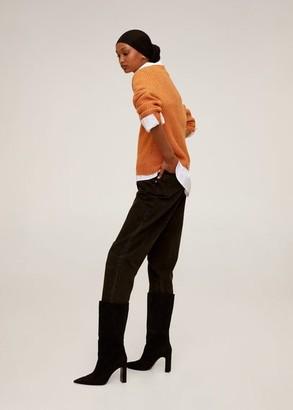 MANGO Long raglan sleeve sweater