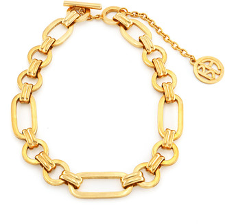Ben-Amun Gold-Tone Large Chain Link Necklace