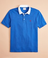 Brooks Brothers Cotton Jersey Short-Sleeve Rugby Shirt