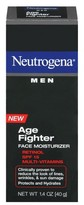 Neutrogena Men Age Fighter Face Moisturizer with Sunscreen Broad Spectrum SPF 15 - 1.4 oz