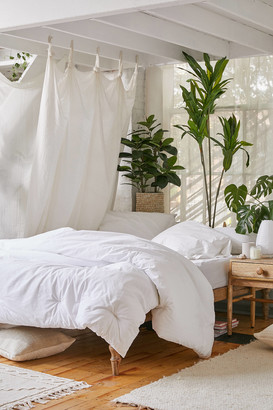 Urban Outfitters Washed Cotton Comforter Snooze Set
