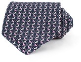 Thomas Pink Monkey Heart Print Tie