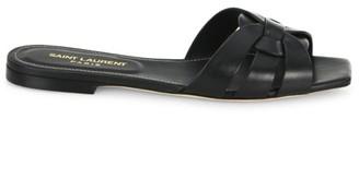 Saint Laurent Tribute Leather Slides