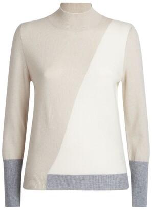 Lorena Antoniazzi Cashmere Mock-Neck Sweater
