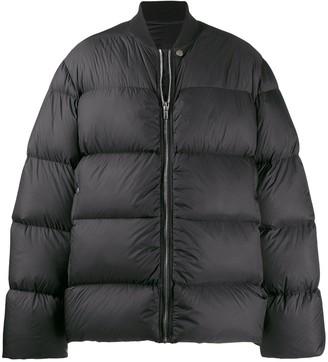 Rick Owens short padded jacket