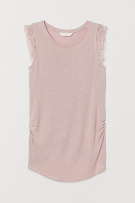 H&M MAMA Top with lace