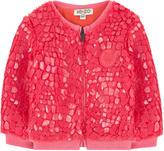 Kenzo False fur sweatshirt with a crackled effect