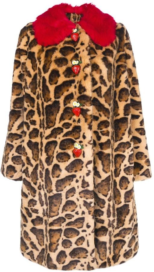 d9fcd0f8b0 contrast-collar leopard-print coat