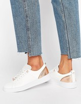Ted Baker Kulei White Leather Sneakers