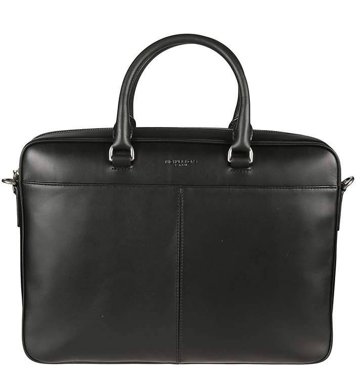 Michael Kors Logo Embossed Briefcase