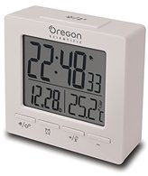 Oregon Scientific RM511 Radio Controlled Alarm Clock, White