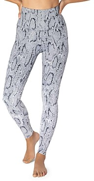 Beyond Yoga Ombre Snake High Waist Leggings