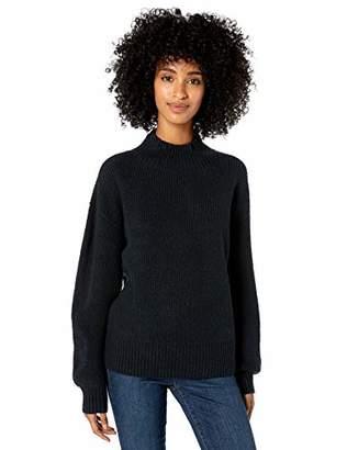 Goodthreads Boucle Half-cardigan Stitch Balloon-sleeve SweaterXXL