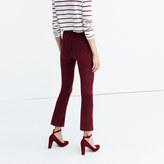 Madewell Cali Demi-Boot Jeans in Velvet