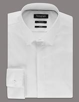 Autograph Supima® Cotton Tailored Fit Stretch Shirt