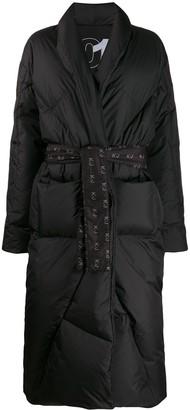 KHRISJOY Longline Puffer Coat