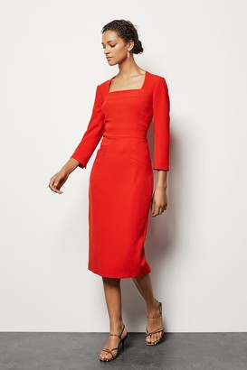 Karen Millen Multi Stitch Pencil Dress