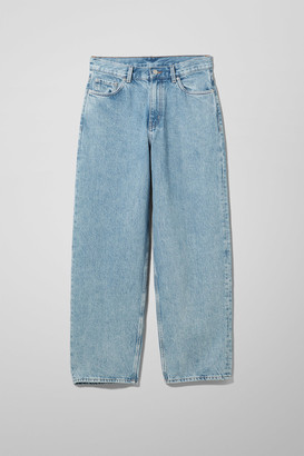 Weekday Rail Mid Straight Jeans - Blue