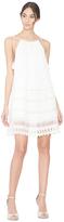Alice + Olivia Danna Tie Strap Short Dress
