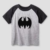 Batman Toddler Boys' Chenille Applique T-Shirt - Charcoal