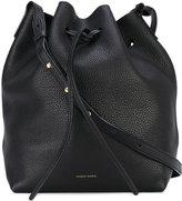 Mansur Gavriel drawstring shoulder bag - women - Leather - One Size