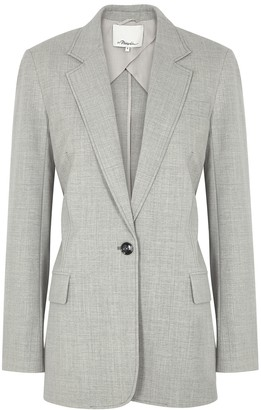 3.1 Phillip Lim Grey wool-blend blazer