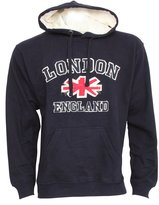 England Mens London Hooded Sweatshirt Jumper/Hoodie