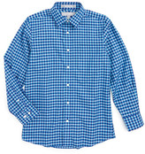 Nordstrom Gingham Woven Shirt (Big Boys)