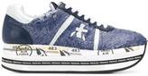 Premiata Beth platform sequin-embellished sneakers
