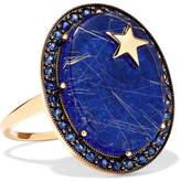 Andrea Fohrman 14-karat Gold Multi-stone Ring